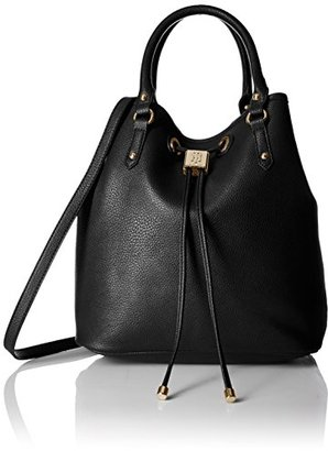 Tommy Hilfiger Hannah Drawstring Tote Bag $86.51 thestylecure.com