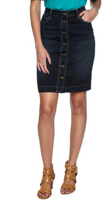 KUT from the Kloth Button Up Skirt
