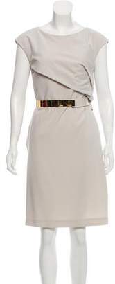 Gucci Belted Cutout Dress