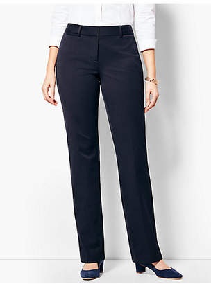 Talbots Refined Bi-Stretch Barely Boot Pant - Curvy Fit