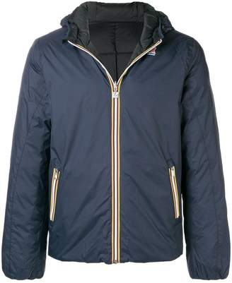 K-Way zipped hooded jacket
