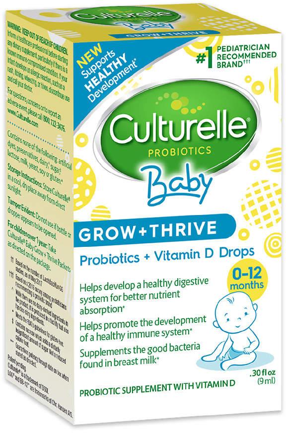 Culturelle Probiotics Grow & Thrive Probiotic & Vitamin D Drops