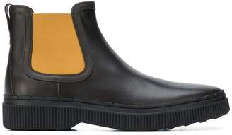 Tod's ridged sole Chelsea boots