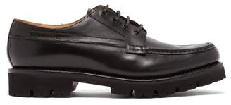 Grenson - Buddy Leather Derby Shoes - Mens - Black
