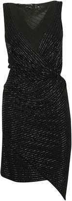 DSQUARED2 Bead-embellished Draped Dress