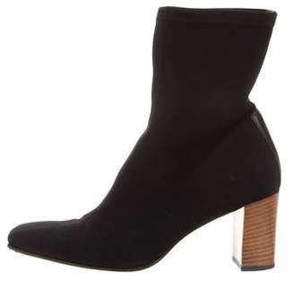 Gucci Square-Toe Ankle Boots