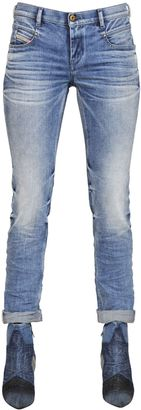 Belthy Tapered Cotton Denim Jeans $227 thestylecure.com