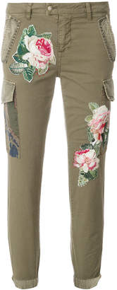 Mason floral embroidered jeans