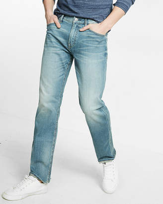 Express Classic Straight Light Wash Stretch+ Jeans