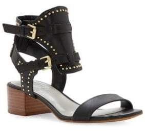 1 STATE 1.STATE Studded Ankle Buckle Sandals
