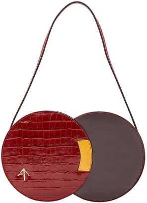 Atelier Manu Twist Croc handbag