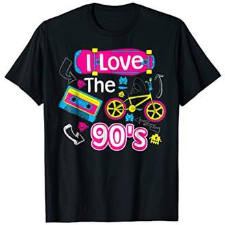 I Love The 90's Shirt | Cute Fancy Millennials T-shirt Gift