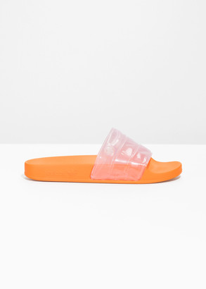 And other stories Clear Strap Pool Slides