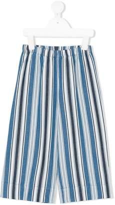 Il Gufo wide-legged striped trousers
