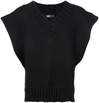 Yang Li sleeveless knitted top