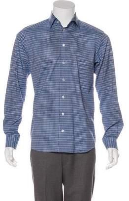 Eton Gingham Woven Shirt