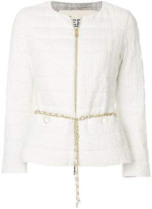 Herno zip up padded jacket