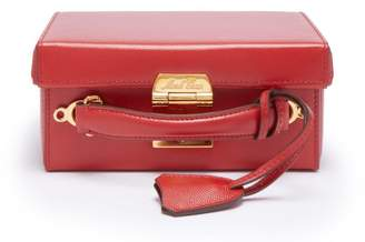 Mark Cross Grace Small Leather Cross Body Bag - Womens - Red