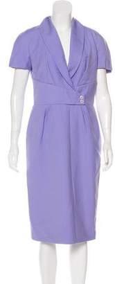 Christian Dior Virgin Wool Midi Dress