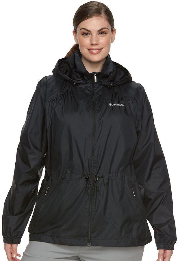 ColumbiaPlus Size Columbia Stone Creek Hooded Anorak Jacket
