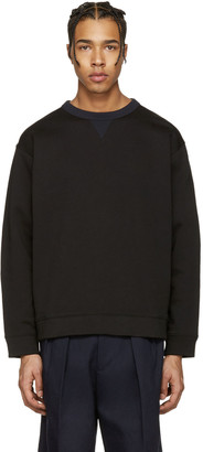 Acne Studios Black Field Sweatshirt $230 thestylecure.com