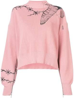 Sacai (サカイ) - Sacai ルーズフィット セーター