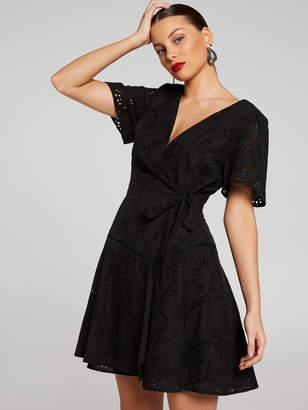 Portmans Australia Ruby Embroidered Wrap Dress