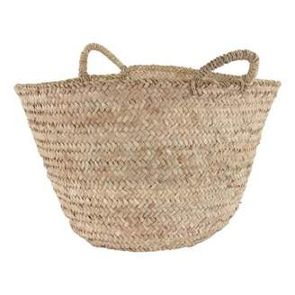 Smallable Home Woven Palm Leaf Basket