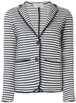 Zanone striped fitted blazer