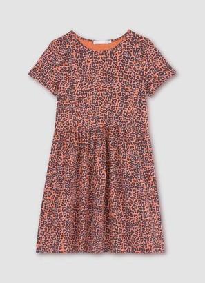 Mint Velvet Margot Leopard T-Shirt Dress