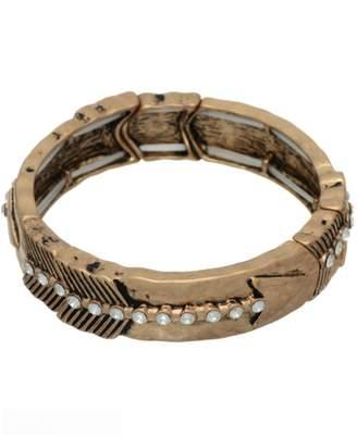 Mia Brass Arrow Bracelet