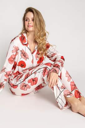 PJ Salvage Red Floral Pjs
