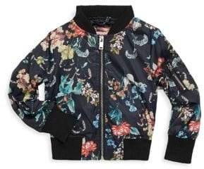 Urban Republic Girl's Printed Zip Jacket