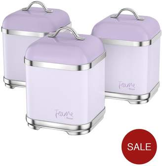Swan Fearne By Set Of 3 Canisters – Lily