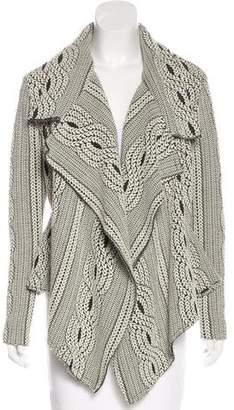 Alexis Patterned Knit Jacket