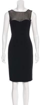 L'Agence Embellished Sheath Dress