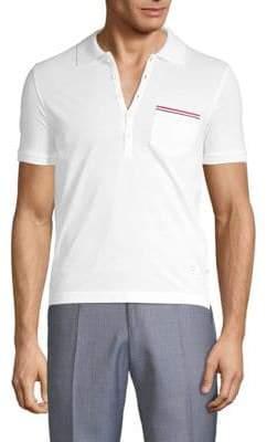 Thom Browne Striped Pocket Polo