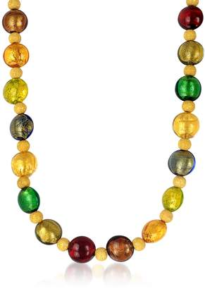 Antica Murrina Veneziana Manuela - Multi-Color Murano Glass and Sterling Silver Necklace