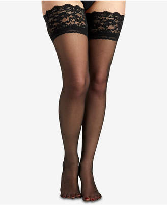 Berkshire Women French Lace Top Thigh High Hosiery 1363