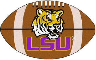 NCAA Fanmats FANMATS Louisiana State Tigers Football Rug