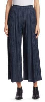 Pleats Please Issey Miyake Mellow Pleats Wide Leg Pants