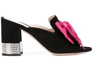 Miu Miu embellished bow heels