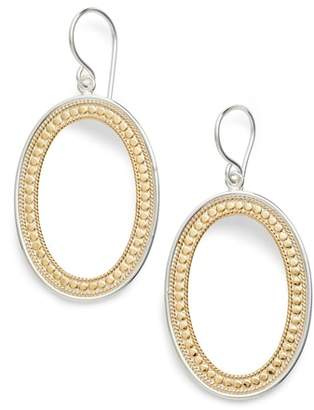 Anna Beck Large Open Oval Drop Earrings