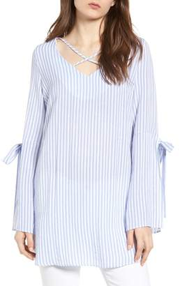 Bishop + Young BISHOP AND YOUNG Stripe Tunic Top