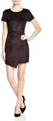 AQUA Faux Suede Dress - 100% Exclusive $78 thestylecure.com