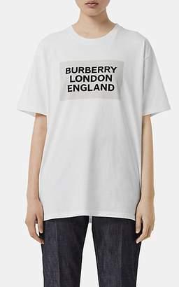 0c3a9de49d Burberry Women s Logo Cotton T-Shirt - White