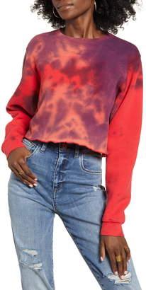 Neema California Tie Dye Crop Pullover