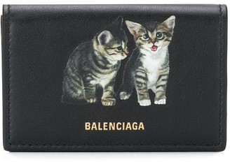 Balenciaga Kitten Ville mini wallet