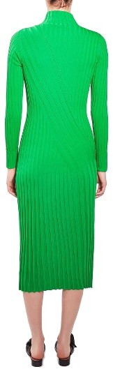 Women's Topshop Boutique Directional Ribbed Midi Dress 3
