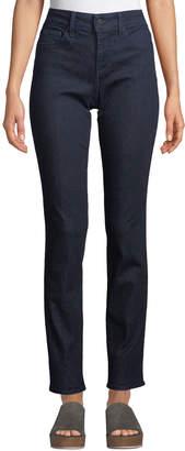 NYDJ Sheri Slim-Leg Floral Bling-Pocket Jeans